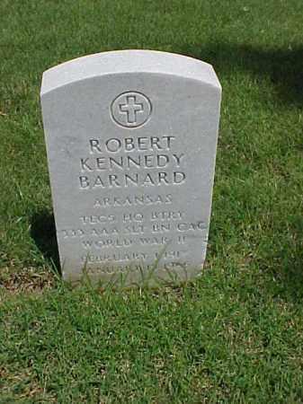 BARNARD (VETERAN WWII), ROBERT KENNEDY - Pulaski County, Arkansas | ROBERT KENNEDY BARNARD (VETERAN WWII) - Arkansas Gravestone Photos