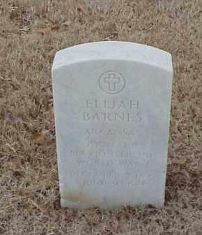 BARNES  (VETERAN WWI), ELIJAH - Pulaski County, Arkansas   ELIJAH BARNES  (VETERAN WWI) - Arkansas Gravestone Photos