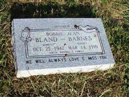 BARNES, BOBBIE JEAN - Pulaski County, Arkansas | BOBBIE JEAN BARNES - Arkansas Gravestone Photos