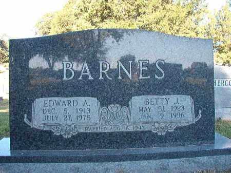 BARNES, BETTY J - Pulaski County, Arkansas | BETTY J BARNES - Arkansas Gravestone Photos
