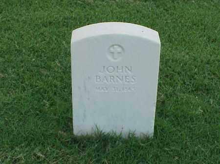 BARNES (VETERAN UNION), JOHN - Pulaski County, Arkansas | JOHN BARNES (VETERAN UNION) - Arkansas Gravestone Photos