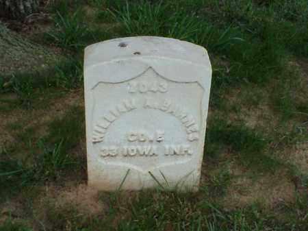 BARNES (VETERAN UNION), WILLIAM - Pulaski County, Arkansas   WILLIAM BARNES (VETERAN UNION) - Arkansas Gravestone Photos