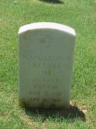 BARNES (VETERAN VIET), NAPOLEON P - Pulaski County, Arkansas   NAPOLEON P BARNES (VETERAN VIET) - Arkansas Gravestone Photos