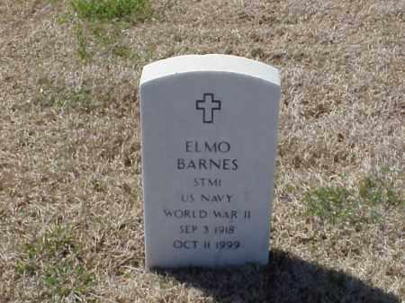 BARNES (VETERAN WWII), ELMO - Pulaski County, Arkansas | ELMO BARNES (VETERAN WWII) - Arkansas Gravestone Photos