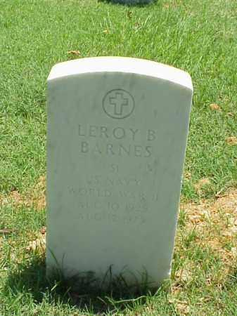 BARNES (VETERAN WWII), LEROY B - Pulaski County, Arkansas | LEROY B BARNES (VETERAN WWII) - Arkansas Gravestone Photos