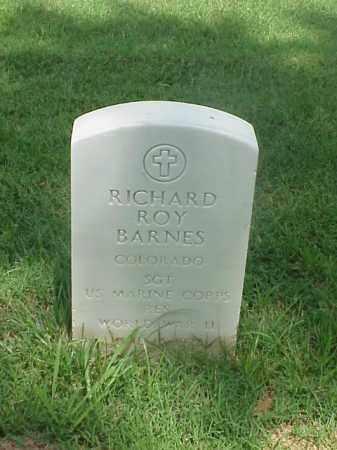 BARNES (VETERAN WWII), RICHARD ROY - Pulaski County, Arkansas | RICHARD ROY BARNES (VETERAN WWII) - Arkansas Gravestone Photos