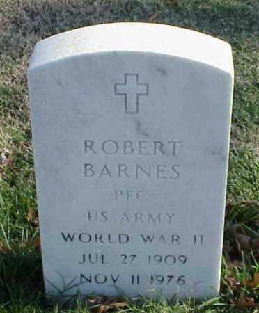 BARNES (VETERAN WWII), ROBERT - Pulaski County, Arkansas | ROBERT BARNES (VETERAN WWII) - Arkansas Gravestone Photos