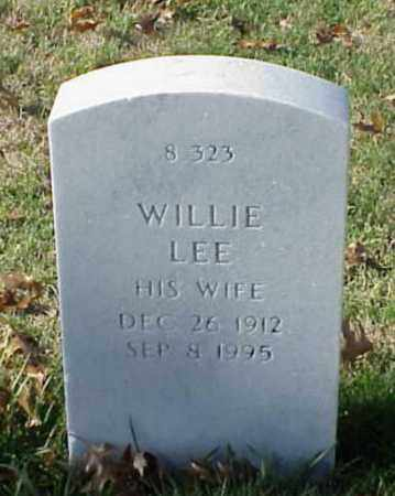 BARNES, WILLIE LEE - Pulaski County, Arkansas | WILLIE LEE BARNES - Arkansas Gravestone Photos