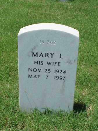 BARNETT, MARY L - Pulaski County, Arkansas   MARY L BARNETT - Arkansas Gravestone Photos