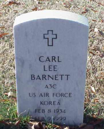BARNETT (VETERAN KOR), CARL LEE - Pulaski County, Arkansas | CARL LEE BARNETT (VETERAN KOR) - Arkansas Gravestone Photos