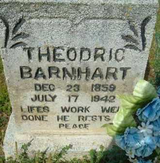 BARNHART, THEODRIC - Pulaski County, Arkansas | THEODRIC BARNHART - Arkansas Gravestone Photos