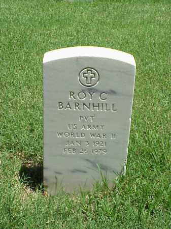 BARNHILL (VETERAN WWII), ROY C - Pulaski County, Arkansas   ROY C BARNHILL (VETERAN WWII) - Arkansas Gravestone Photos