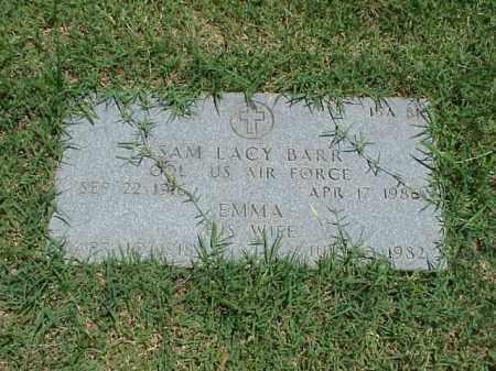 BARR (VETERAN), SAM LACY - Pulaski County, Arkansas | SAM LACY BARR (VETERAN) - Arkansas Gravestone Photos