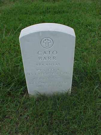 BARR (VETERAN WWI), CATO - Pulaski County, Arkansas | CATO BARR (VETERAN WWI) - Arkansas Gravestone Photos