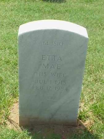 BARRETT, ETTA MAE - Pulaski County, Arkansas   ETTA MAE BARRETT - Arkansas Gravestone Photos
