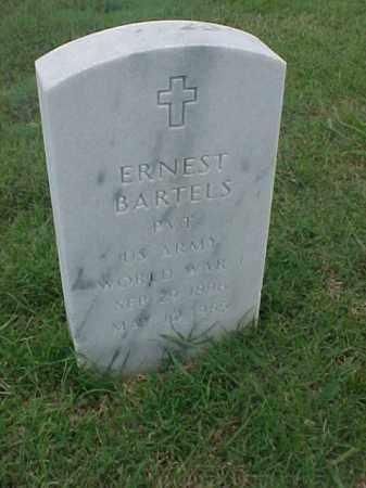BARTELS (VETERAN WWI), ERNEST - Pulaski County, Arkansas   ERNEST BARTELS (VETERAN WWI) - Arkansas Gravestone Photos