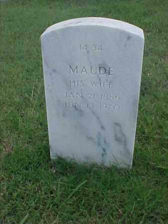 BARTELS, MAUDE - Pulaski County, Arkansas | MAUDE BARTELS - Arkansas Gravestone Photos