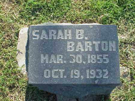 BARTON, SARAH B - Pulaski County, Arkansas   SARAH B BARTON - Arkansas Gravestone Photos