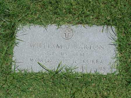 BARTON (VETERAN 2WARS), WILLIAM J - Pulaski County, Arkansas | WILLIAM J BARTON (VETERAN 2WARS) - Arkansas Gravestone Photos