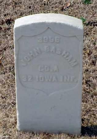 BASHAM (VETERAN UNION), JOHN - Pulaski County, Arkansas   JOHN BASHAM (VETERAN UNION) - Arkansas Gravestone Photos