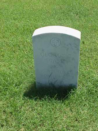 BASS (VETERAN 2WARS), GEORGE T - Pulaski County, Arkansas   GEORGE T BASS (VETERAN 2WARS) - Arkansas Gravestone Photos