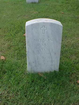 BASS (VETERAN KOR), NELSON - Pulaski County, Arkansas   NELSON BASS (VETERAN KOR) - Arkansas Gravestone Photos