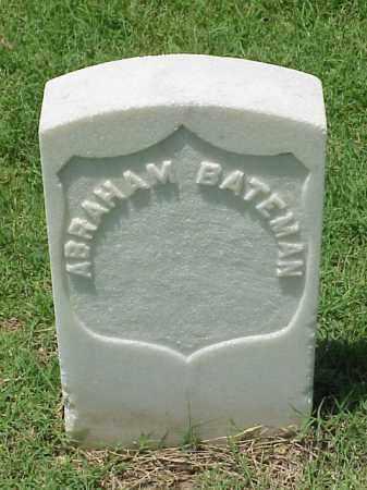BATEMAN (VETERAN UNION), ABRAHAM - Pulaski County, Arkansas | ABRAHAM BATEMAN (VETERAN UNION) - Arkansas Gravestone Photos