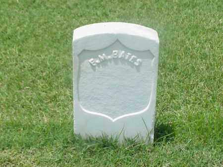 BATES (VETERAN UNION), F M - Pulaski County, Arkansas   F M BATES (VETERAN UNION) - Arkansas Gravestone Photos