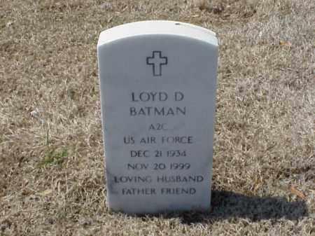 BATMAN (VETERAN), LOYD - Pulaski County, Arkansas   LOYD BATMAN (VETERAN) - Arkansas Gravestone Photos