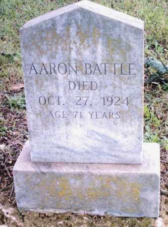BATTLE, AARON - Pulaski County, Arkansas | AARON BATTLE - Arkansas Gravestone Photos