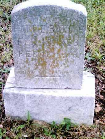 BATTLE, HATTIE - Pulaski County, Arkansas | HATTIE BATTLE - Arkansas Gravestone Photos