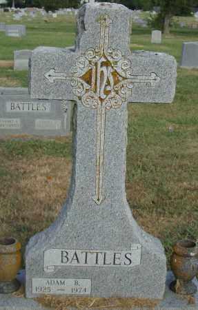 BATTLES, ADAM B. - Pulaski County, Arkansas | ADAM B. BATTLES - Arkansas Gravestone Photos