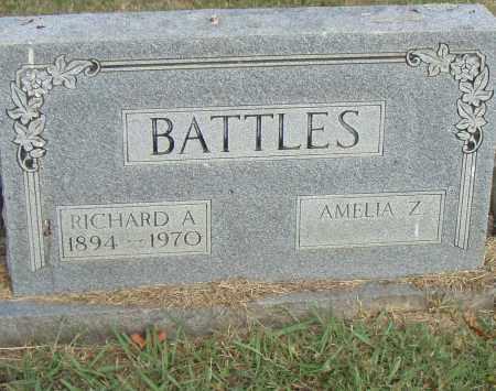 BATTLES, RICHARD A. - Pulaski County, Arkansas   RICHARD A. BATTLES - Arkansas Gravestone Photos