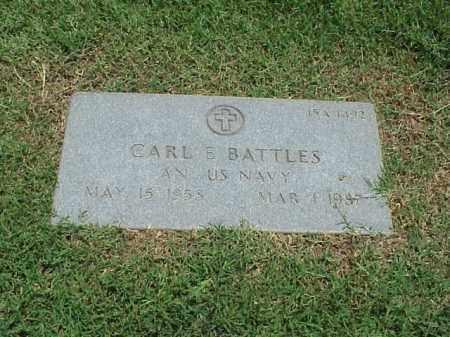 BATTLES (VETERAN), CARL E - Pulaski County, Arkansas | CARL E BATTLES (VETERAN) - Arkansas Gravestone Photos