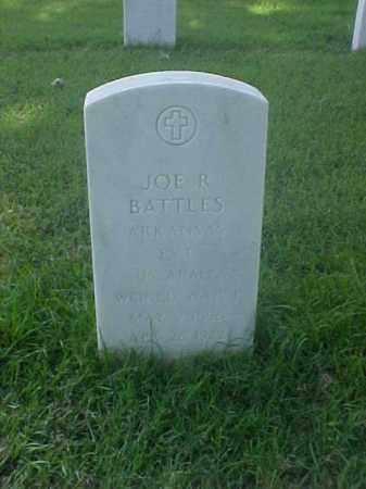 BATTLES (VETERAN WWI), JOE R - Pulaski County, Arkansas   JOE R BATTLES (VETERAN WWI) - Arkansas Gravestone Photos