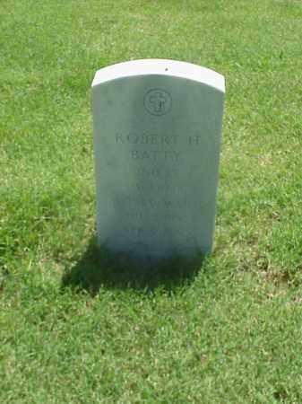 BATTY (VETERAN WWI), ROBERT H - Pulaski County, Arkansas   ROBERT H BATTY (VETERAN WWI) - Arkansas Gravestone Photos