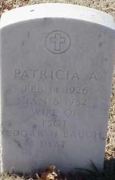 BAUGH, PATRICIA A. - Pulaski County, Arkansas | PATRICIA A. BAUGH - Arkansas Gravestone Photos