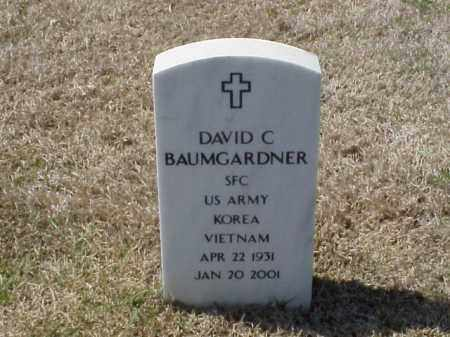 BAUMGARDNER (VETERAN 2WARS), DAVID C - Pulaski County, Arkansas | DAVID C BAUMGARDNER (VETERAN 2WARS) - Arkansas Gravestone Photos