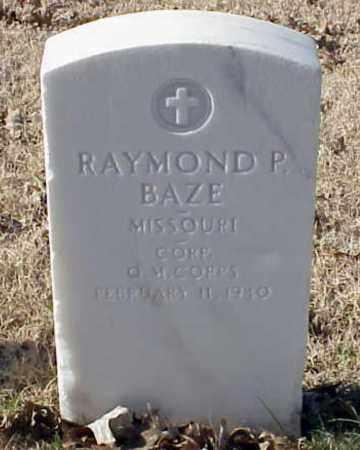 BAZE (VETERAN WWI), RAYMOND P - Pulaski County, Arkansas | RAYMOND P BAZE (VETERAN WWI) - Arkansas Gravestone Photos