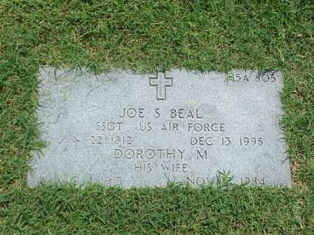 BEAL (VETERAN 2WARS), JOE S - Pulaski County, Arkansas | JOE S BEAL (VETERAN 2WARS) - Arkansas Gravestone Photos