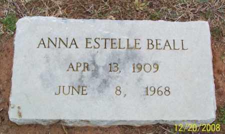 BEALL, ANNA ESTELLE - Pulaski County, Arkansas | ANNA ESTELLE BEALL - Arkansas Gravestone Photos