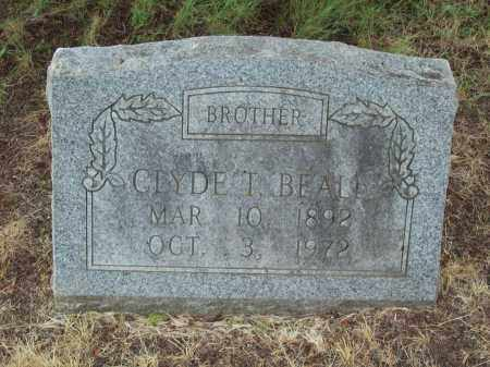 BEALL, CLYDE TERRAL - Pulaski County, Arkansas | CLYDE TERRAL BEALL - Arkansas Gravestone Photos