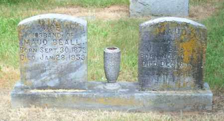 BEALL, MAUDE - Pulaski County, Arkansas | MAUDE BEALL - Arkansas Gravestone Photos