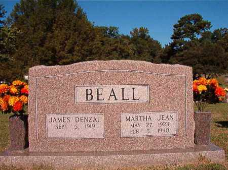BEALL, MARTHA JEAN - Pulaski County, Arkansas | MARTHA JEAN BEALL - Arkansas Gravestone Photos