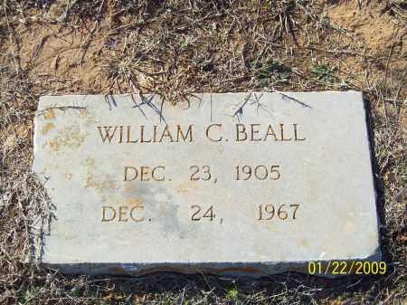 BEALL, WILLIAM C - Pulaski County, Arkansas | WILLIAM C BEALL - Arkansas Gravestone Photos