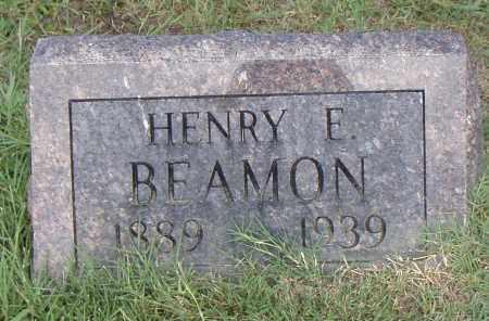BEAMON, HENRY E. - Pulaski County, Arkansas | HENRY E. BEAMON - Arkansas Gravestone Photos