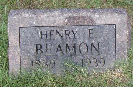 BEAMON, HENRY E. - Pulaski County, Arkansas | HENRY E. BEAMON - Arkansas Gravestone Photos