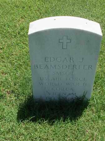 BEAMSDERFER (VETERAN 3 WARS), EDGAR J - Pulaski County, Arkansas | EDGAR J BEAMSDERFER (VETERAN 3 WARS) - Arkansas Gravestone Photos