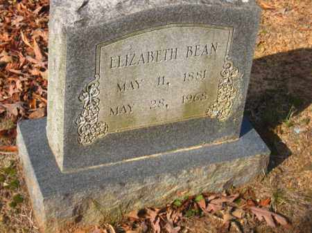 BEAN, ELIZABETH - Pulaski County, Arkansas | ELIZABETH BEAN - Arkansas Gravestone Photos