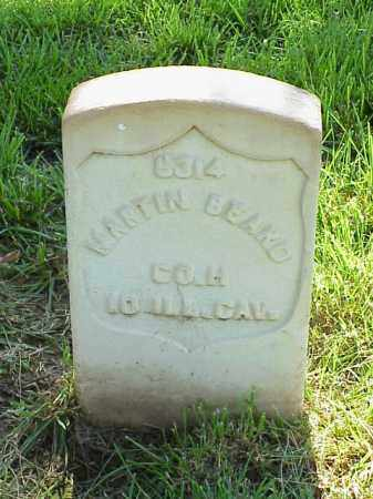 BEARD (VETERAN UNION), MARTIN - Pulaski County, Arkansas   MARTIN BEARD (VETERAN UNION) - Arkansas Gravestone Photos